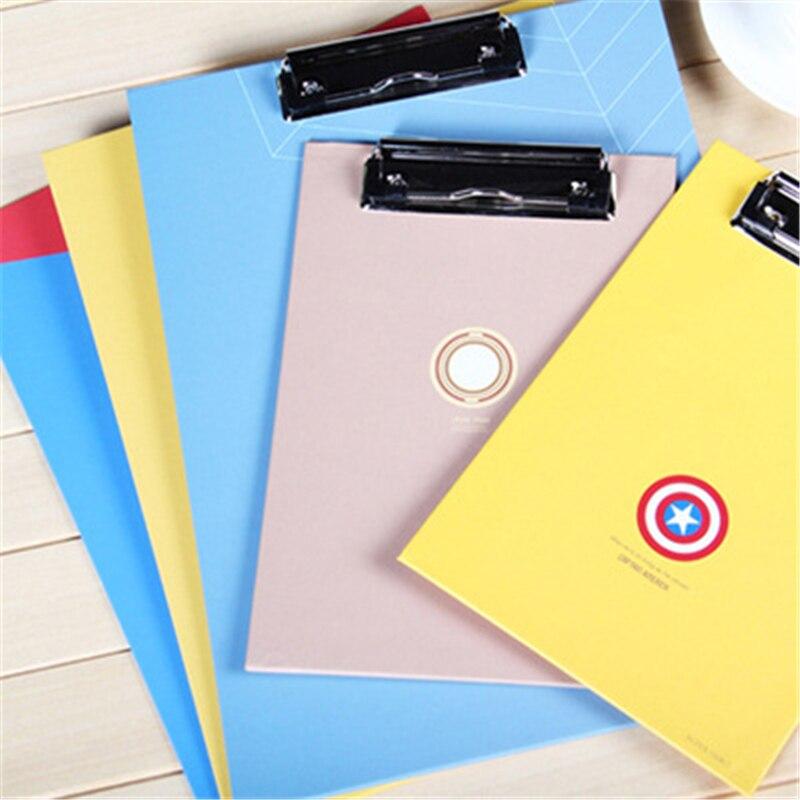 H109 Hero League Series Board Folder Office Supplies Creative Test Paper Writing Board Educational Equipment Student Supplies