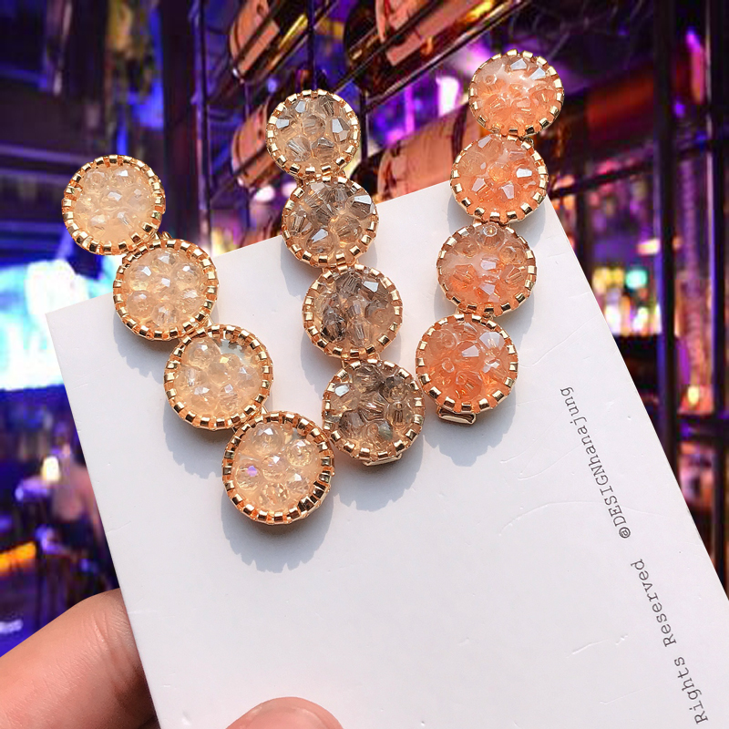 Fashion Macaron Creative Gold Color Hair Clip Rhinestone Hairpin For Women Girls Hair Styling Tools Accessories New