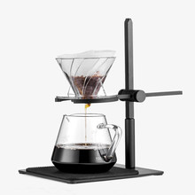 Hand gebraut kaffee filter set mit V60 Glas Kaffee topf hand brauen töpfe kaffee gießen über kaffee wasserkocher topf tropf tasse