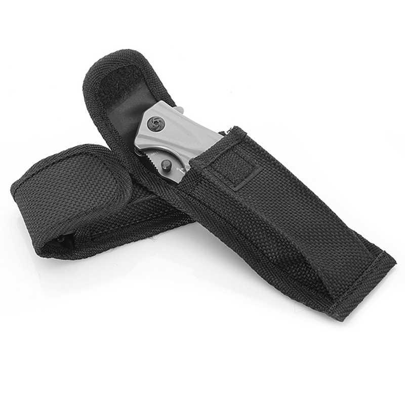 Conjunto de náilon oxford faca dobrável embalagem caso de náilon presente faca de náilon conjunto edc alicate bainha bolsa exército facas capa sacos # nd