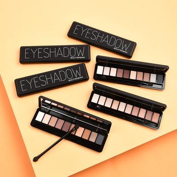 Beautybigbang 10 paleta kolorowych cieni do powiek idealna do cieniowania zarówno pięknie odważne jak i subtelne urocze cienie do powiek tanie i dobre opinie Eyeshadow Palette Naturalne W pełnym rozmiarze Powyżej ośmiu kolorach CHINA J6422TM DG56IJYH9