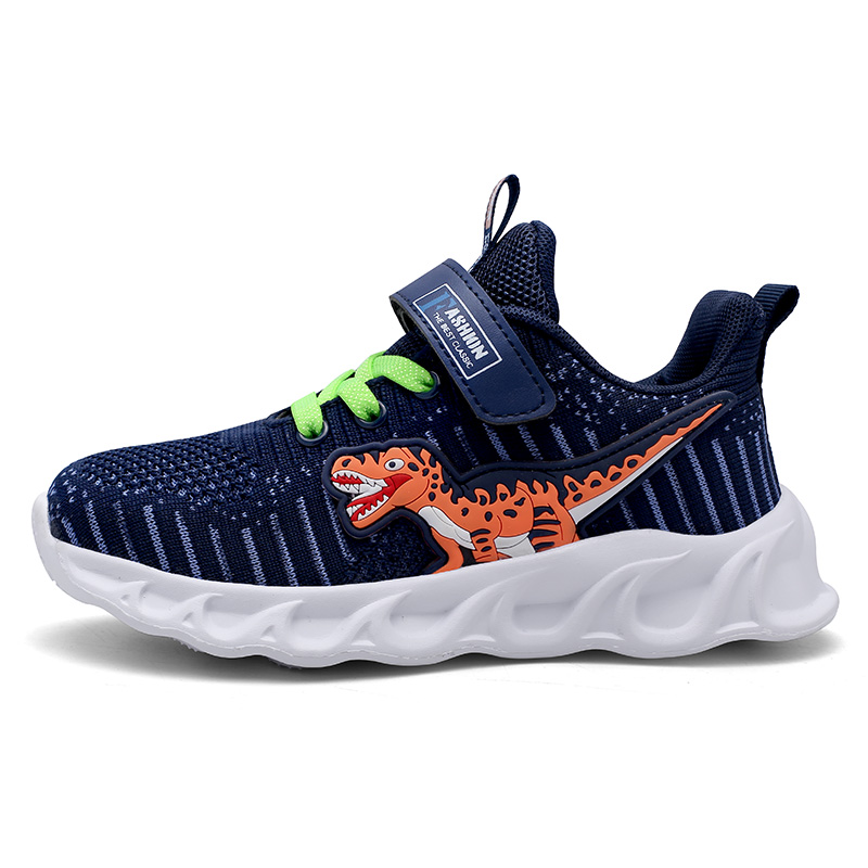 Kids Boys Sneakers Dinosaur Shoes For Boy,Running Children Shoes Breathable And Light Child Shoes Chaussure Enfant