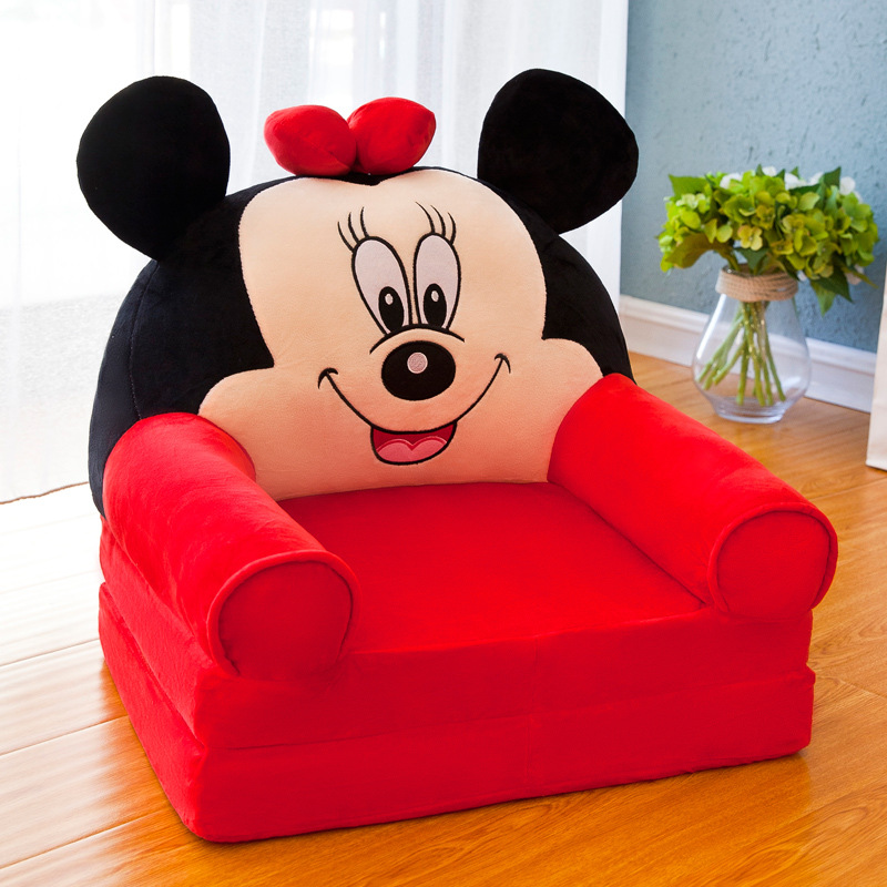 Folding Childrenundefineds Sofa Cartoon Multifunctional Baby Seat Bench Kindergarten Stool Kids Sofa