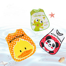 Get more info on the Baby Eat Bib Newborn Saliva A Piece Of Cloth Baby Bib Waterproof Rice Bag Saliva Pocket Child Sleeveless Overclothes