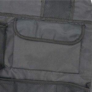 Image 5 - Universal à prova dwaterproof água assento de carro volta organizador saco armazenamento multi bolso pendurado bolsa sortido 58cm x 38cm acessórios automóveis preto