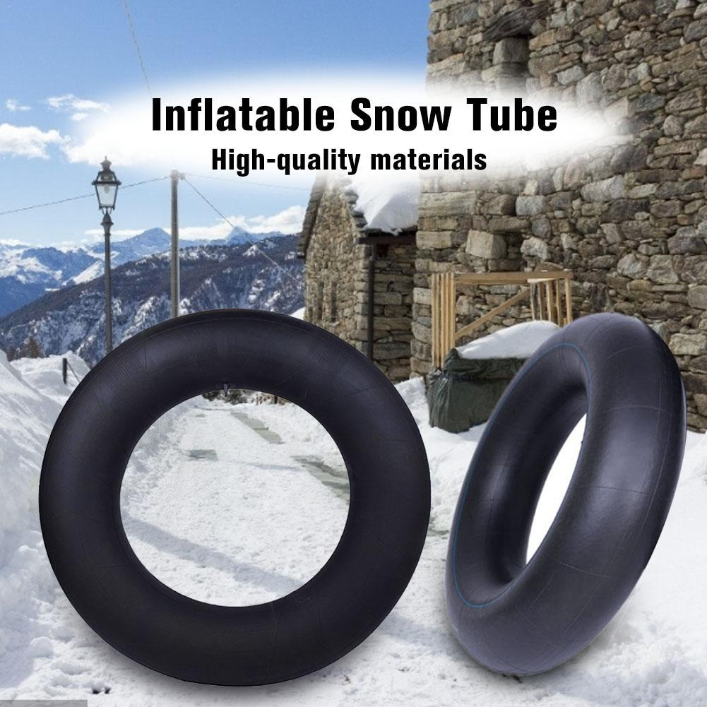 Ski Circle Inflatable Skier Snow Tube Skiing Sled Snow Tire Snowboard Heavy Duty Made By Thickening Material Ski Supplies 4