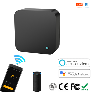 Smart IR Remote Control wifi Universal Infrared Tuya for smart home Control for TV AC DVD AUD Works with Alexa Google Home