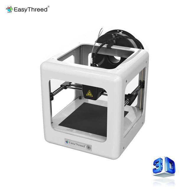 EasyThreed Nano Stampante 3d Portatile Mini Educational Kit FAI DA TE Stampante Stampante Una Chiave di Stampa per I Bambini 3d Regalo Di Natale
