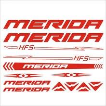 Autocollant pour cadre de vélo de route Merida, 32 cm x 22cm, accessoires de moto