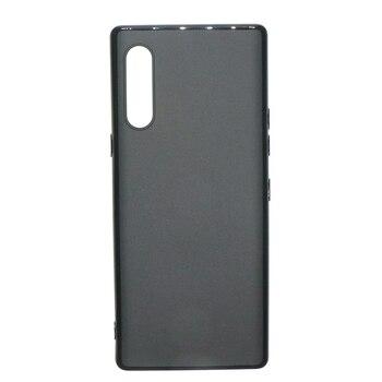 Перейти на Алиэкспресс и купить Для LG Velvet G900N чехол для телефона черный однотонный ТПУ мягкий силиконовый Задний защитный чехол для LG Velvet G900EM чехол Корпус