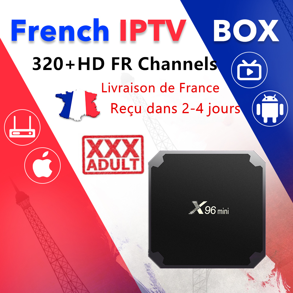 iptv France tv Box x96 mini android tv box 6000+ Live tv m3u french dutch UK German spain 8000 vod Adult xxx iptv smart tv box title=