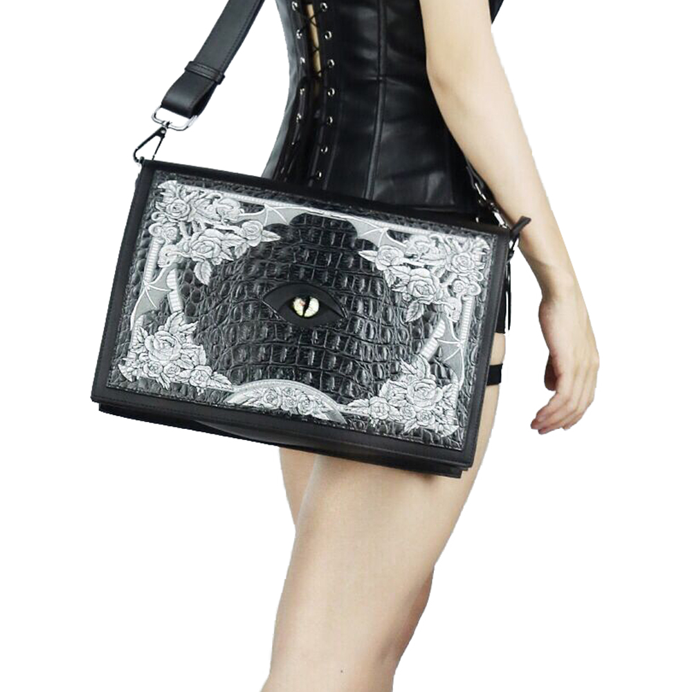 New Arrival Bags For Women Black Printing Leather Shoulder Bags Fashion Crossbody Bag Hand Bag Casual