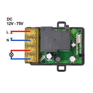 Image 2 - تيار مستمر 12 فولت 24 فولت لاسلكي للتحكم عن بعد التبديل التيار المتناوب 220 فولت 110 فولت ماكس 40A وحدة الاستقبال التتابع العالمي واسعة الجهد 433 ميجا هرتز EV1527