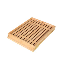 Wooden Bread Plate Rectangular Baking European-Style Cake Shop Display Pastry Snack