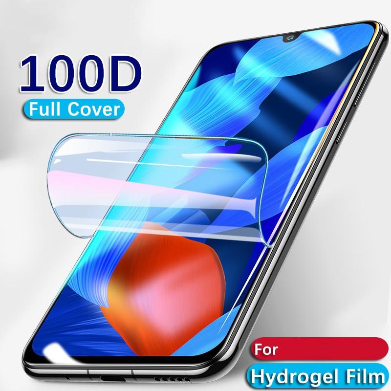 30D Hydrogel Film FOR Zte Blade GF3 V8 V7 Lite Full Cover Protective Film For Zte Blade A7 A7  2020 20 Smart V10 Vita