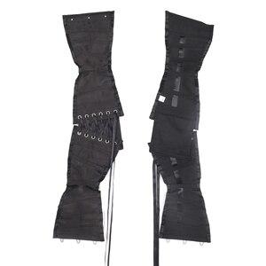 Image 5 - Burvogue Women Waist Trainer Corsets Slimming Shaper Belt Short Torso Satin Underbust Corset Sexy Lace Up Bustiers & Corsets
