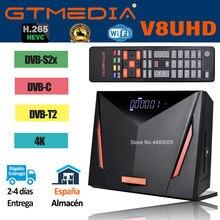 Rezeptor gtmedia V8 UHD bulit-in wifi satellite empfänger DVB-S/S2/S2X + T/T2/kabel/ATSC-C/ISDBT combo 4K power durch freesat V8 nova