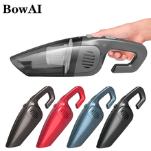 BowAI Wireless Vacuum Cleaner Rechargeable Aspiradora 7000Pa 30000rpm Cordless Wet/Dry Auto Portable for Car Home