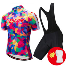 2019 Team Summer Man Cycling Kit Breathable Sporting Racing Pro Cycling Jersey Bike Bib Shorts Set Ropa Ciclismo Bike Clothing