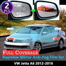 Полное покрытие Защитная пленка для Volkswagen VW Jetta A6 MK6 5C6 2012~ Автомобильное зеркало заднего вида непромокаемые противотуманные аксессуары