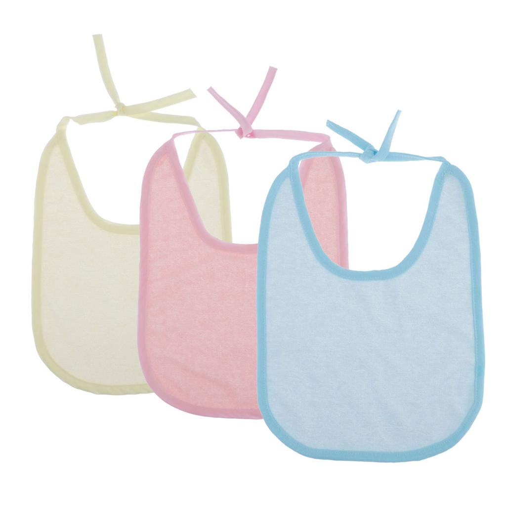 Big Large Bibs - 5 Pieces - Extra Coverage - Soft Drool Absorbing, Easy To Wash, Fits For Toddlers, Big Kids, Adults