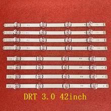 8 قطعة/المجموعة LED شريط إضاءة خلفي ل LG 42LF580V 42LB570V 42LF6200 42LB5300 42LB582V 42LY540H 42GB6310 42LF652V 42LB550V 42LB628V
