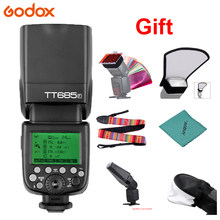 Đèn Flash Godox TT685F 2.4G HSS 1/8000 S TTL GN60 Flash Speedlite For Fuji X-Pro2 X-T20 X-T2 X-T1 X-Pro1 x-T10 X-E1 X-A3 X100F X100T Camera(China)