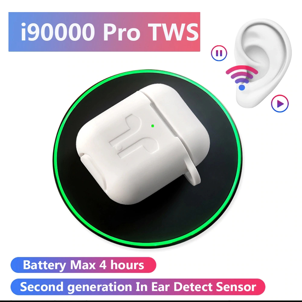 2020 NEW i90000 Pro TWS Blutooth Earphones Wireless Headsets Game Headphones Sport Earbuds Bluetooth Fone De Ouvido