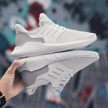 Summer Men Shoes Lac-up Comfortable Lightweight Classic Casual Footwear Mesh Walking Breathable Sport Sneakers New 2020