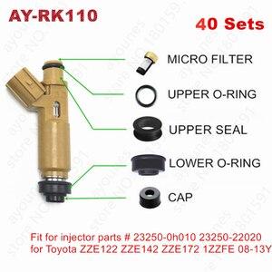 40sets fuel injector repair ki