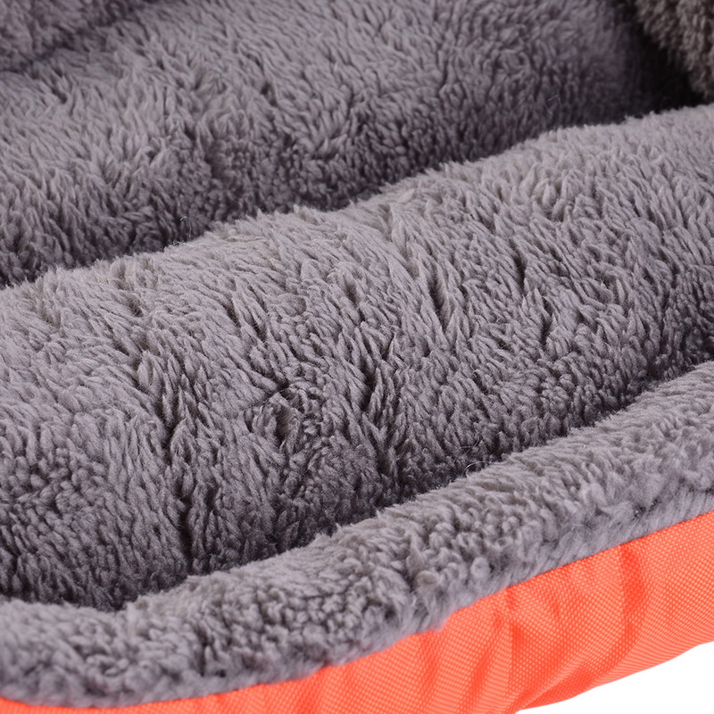 S-3XL 10 Colors Paw Pet Sofa Dog Beds Waterproof Bottom Soft Fleece Warm Cat Bed House Petshop cama perro 14
