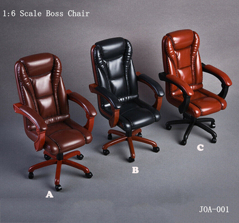 цена 3 Colors 1/6 Scale Action Figure Scene Accessory Office Boss Swivel Chair Model For 12
