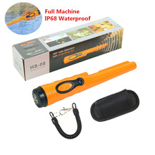 Metal-Detector Pinpointer Handheld Professional Waterproof Coin-Gold Head