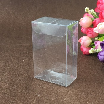 30pcs 3*6*15cm clear plastic pvc box packing boxes for gifts/chocolate/candy/cosmetic/crafts square transparent pvc Box
