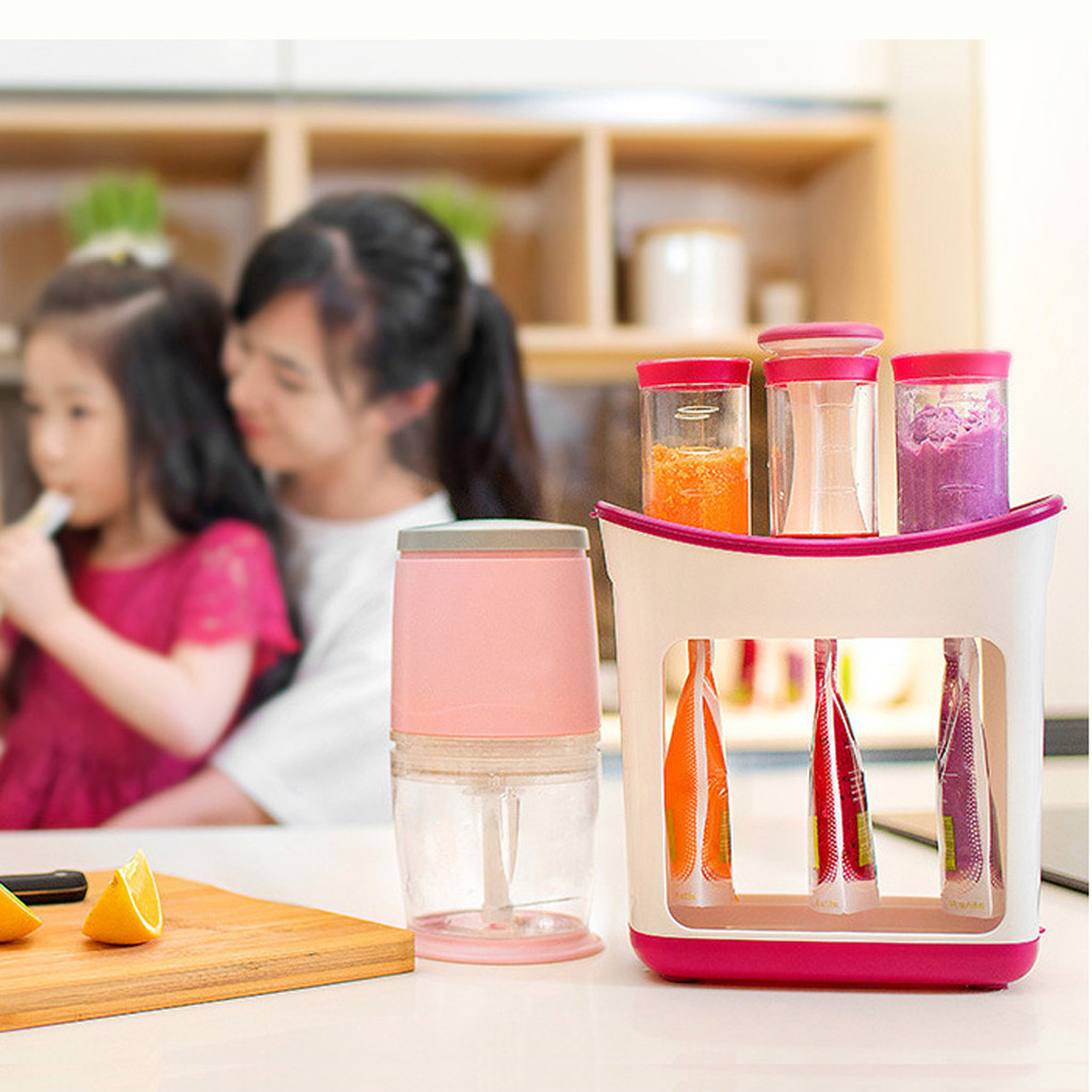 2020 Baby Food Maker Make Organic Food For Newborn Fresh Fruit Juice Containers Storage Baby Feeding Maker Kids Insulation Bags