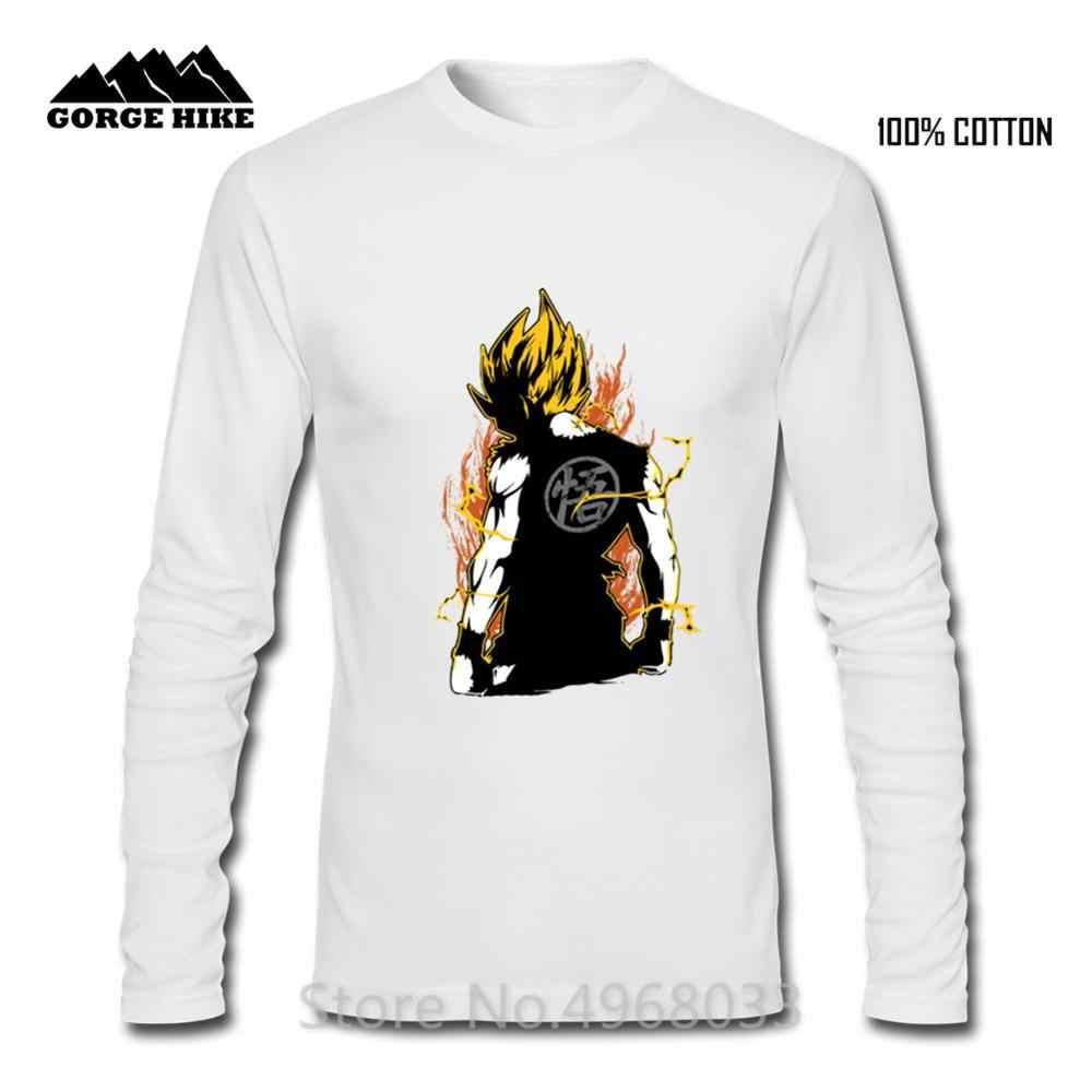 Япония Аниме Супер Саян Гоку футболка Hombre Dragon Ball Бодибилдинг безрукавки для взрослых 100% хлопок дышащая мужская футболка мультфильм тройники