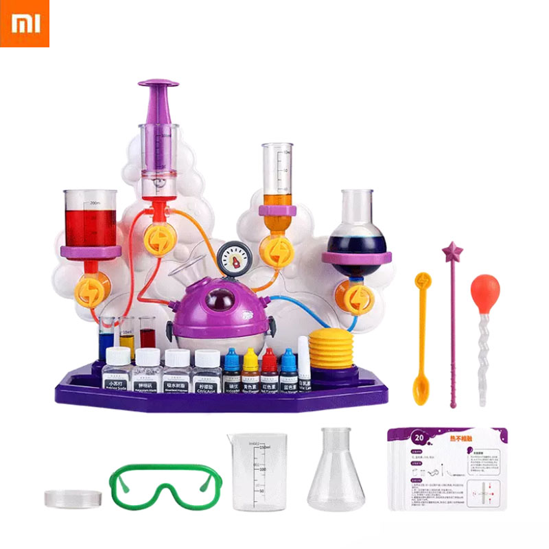 Xiaomi Toy DIY Science Canned Bubble Science Experiment Super Energy Experiment Package Kids Students Timulate Curiosity|Smart Remote Control| - AliExpress