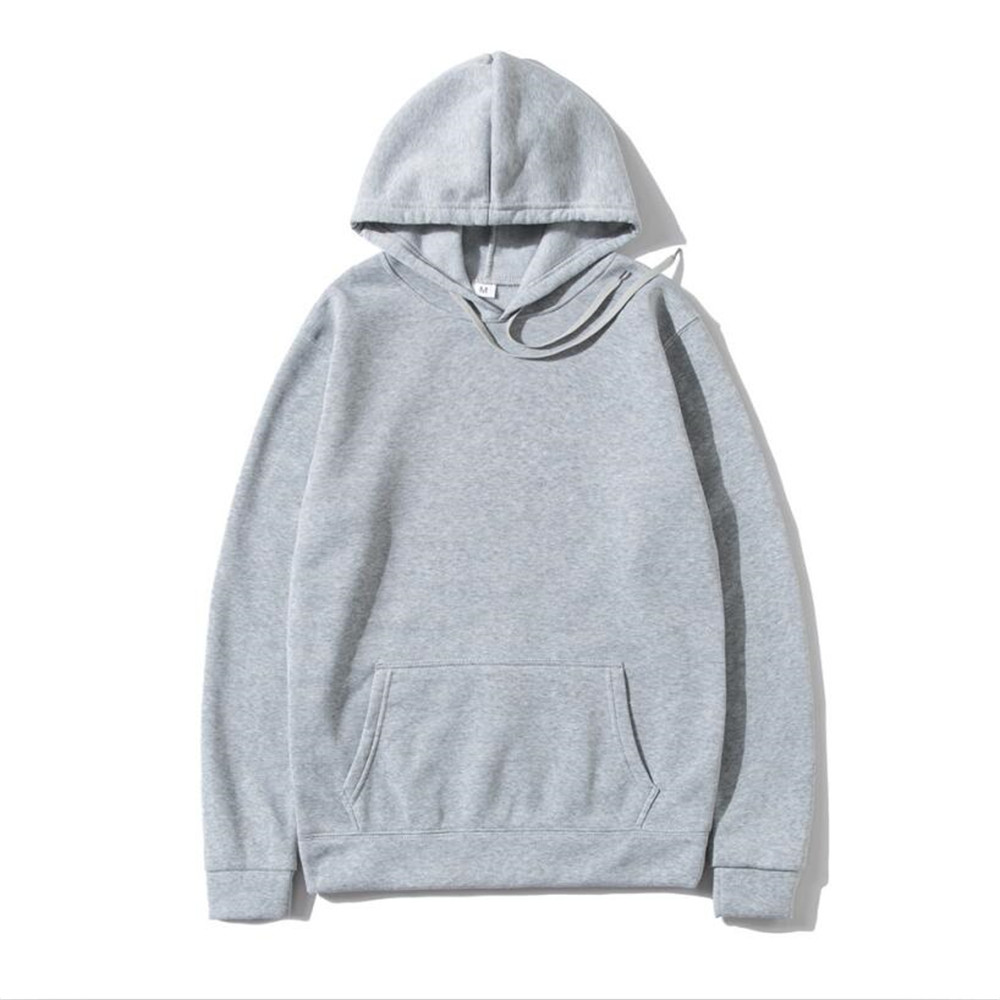 Hoodies Sweatshirts Men Woman Fashion Solid color Red Black Gray Pink  Autumn Winter fleece Hip Hop Hoody Male Brand Casual Tops