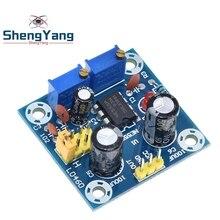ShengYang generador de señal de onda Rectangular, onda cuadrada, ciclo de trabajo de frecuencia de pulso NE555, placa ajustable 555, módulo NE555P