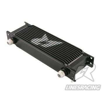 цена на Universal 248mm 13 Row AN10 Engine Oil Cooler Black/SILVER