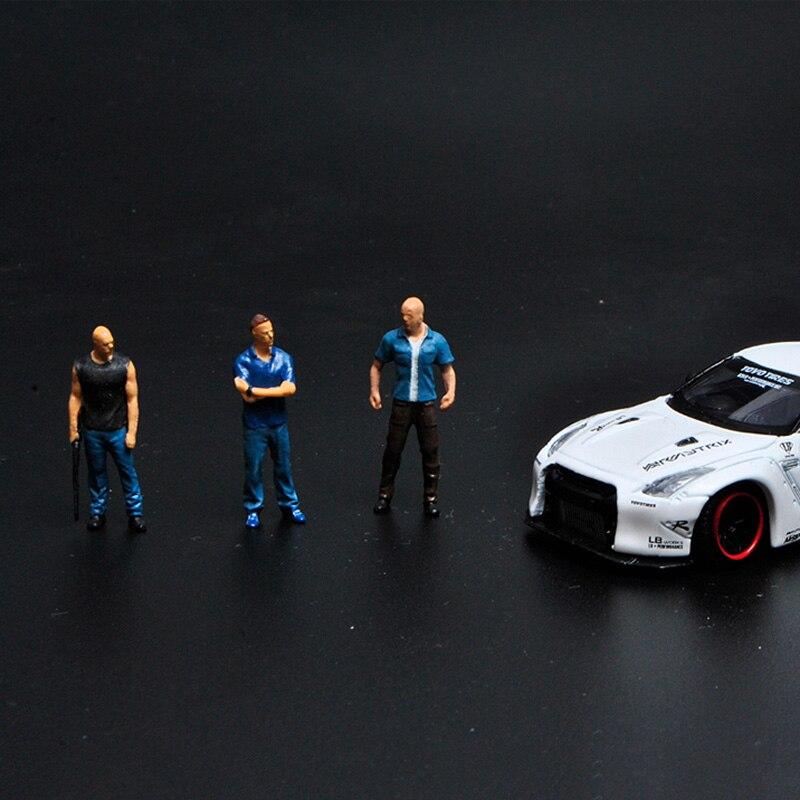 carro modelo cena decoracao figura boneca resina 04