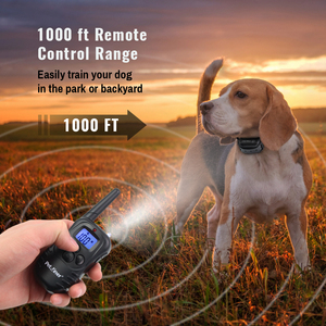 Image 2 - Petrainer 998DB 1 300M Rechargeable Waterproof Remote Control Dog Training Collar Dog Electric Shock Collar With LCD Display