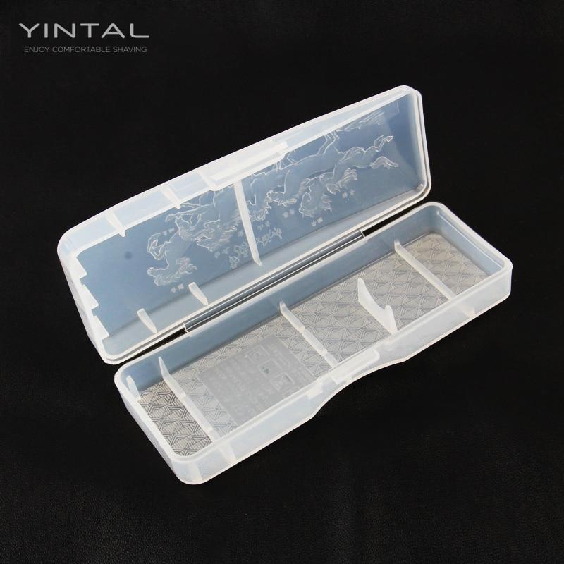 Double Edge Razor Storage Box Men Shaver Case Razor Accessories 1 PC