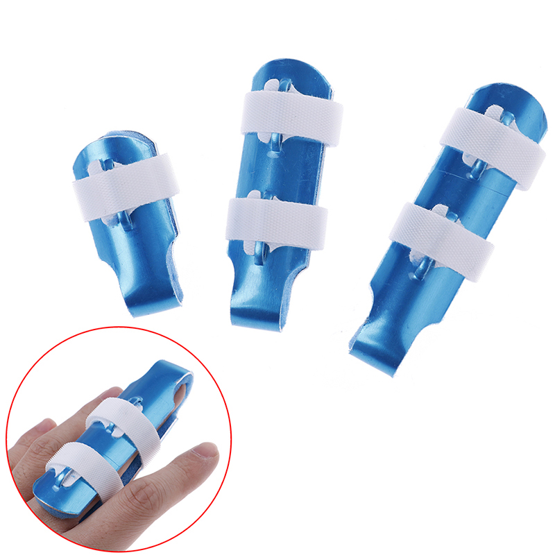 Finger Splint Brace Support Injury Protection Bending Deformation Posture Correction Pain Relief Hand Orthopedics 3 Size