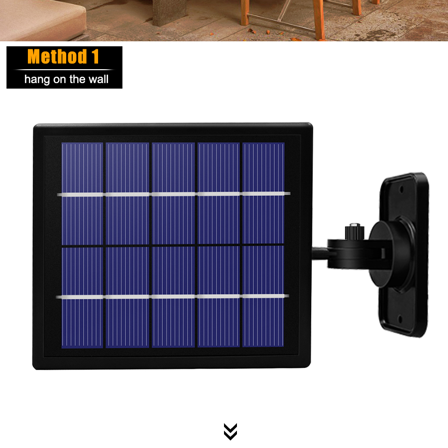 12 lâmpadas de energia solar à prova