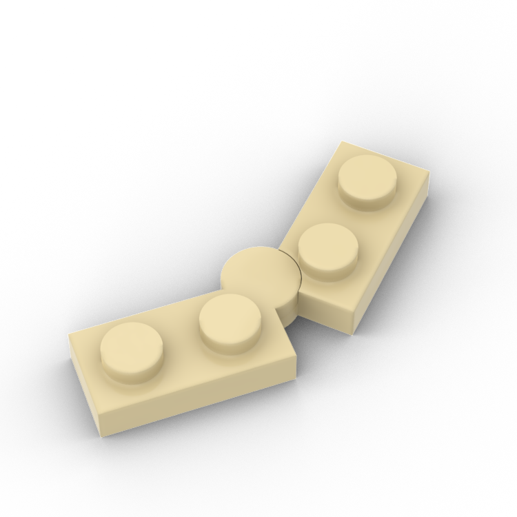 BuildMOC 73983 2429 1x2 Brick Technic Changeover Catch For Building Blocks Parts DIY Educational Creative Gift Toys