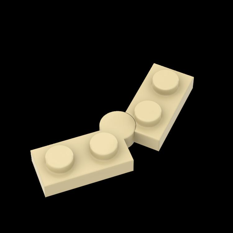 BuildMOC 73983 2429 1x2 Brick Technic Changeover Catch For Building Blocks Parts DIY Educational Tech Parts Toys