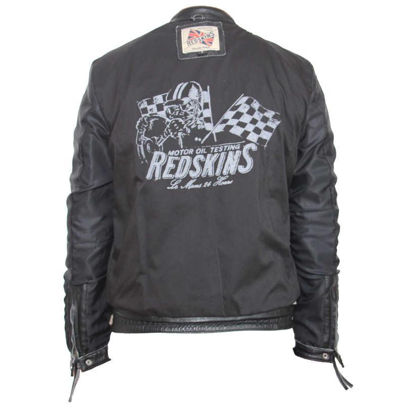 Vintage sıkıntılı deri ceket erkekler dana buzağı deri ceket adam Retro motosiklet ceket erkek deri giyim M101