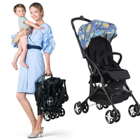 6 KG Mini Pocket Baby Stroller Lightweight Stroller Portable Baby Carriage Folding Traveling Airplane Stroller Can Sit And Lay
