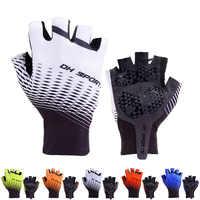2019 New Cycling Gloves Half Finger Gel Sports Racing Bicycle Mittens Women Men Summer Road Bike Anti-slip Outdoor Gloves